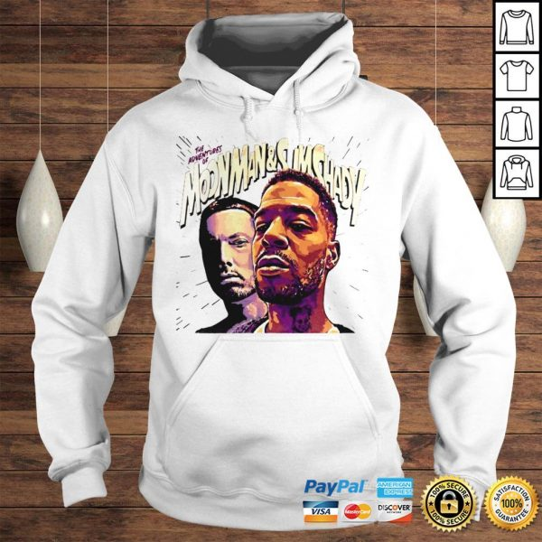 Official The Adventures Of Moonman And Slim Shady Hoodie
