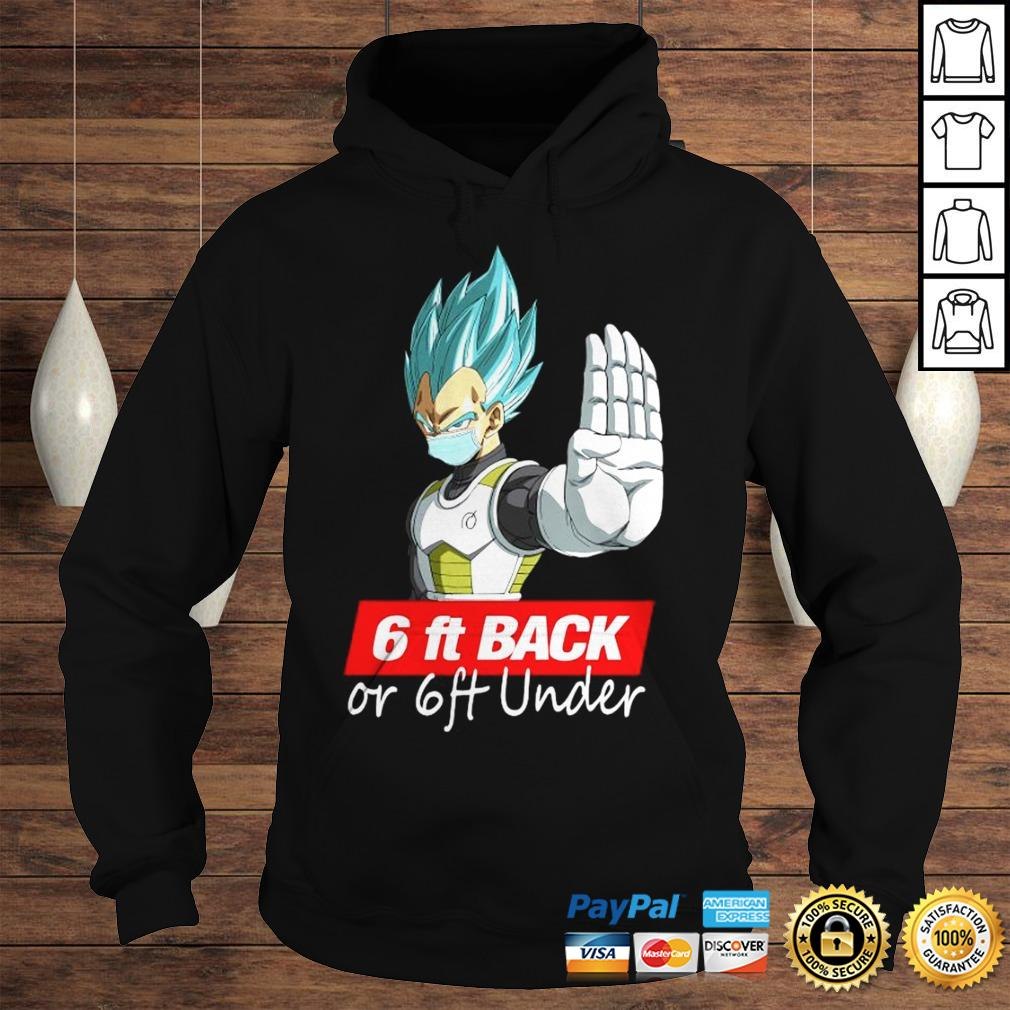 Saga Dragon Ball Super 6Ft Back Or 6Ft Under Shirt Hoodie