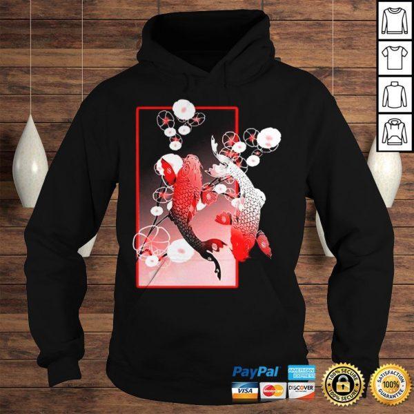 Sakura Cherry Blossom Koi Fish Shirt Hoodie