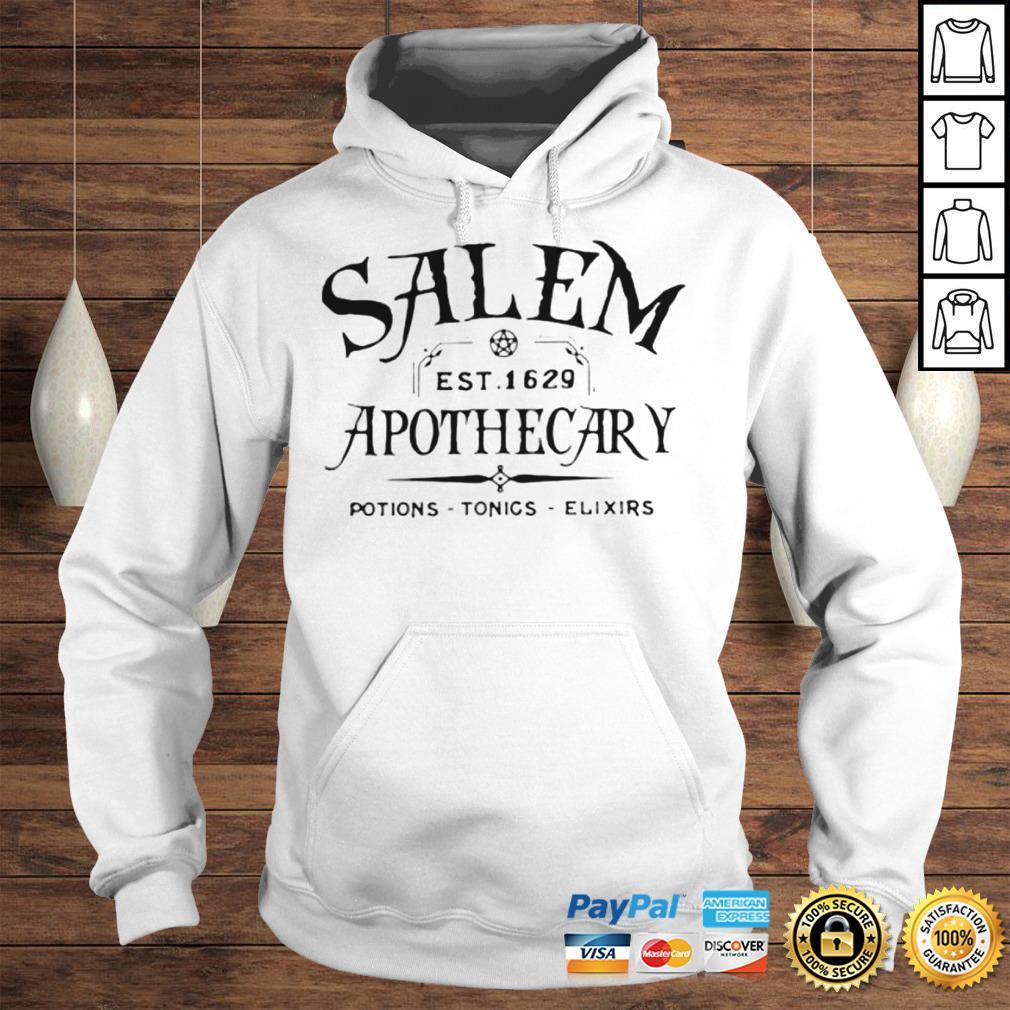 Salem EST 1629 Apothecary Potions Tonics Elixirs Hoodie Hoodie