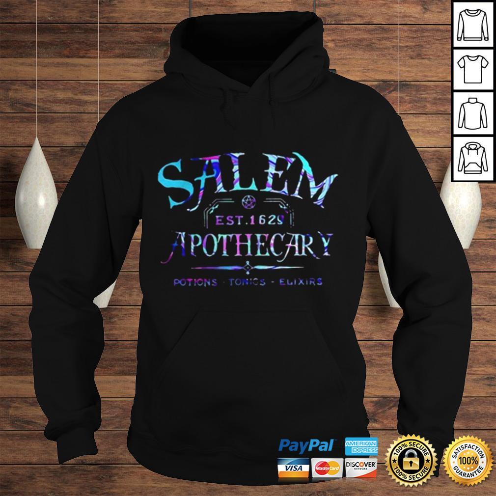 Salem est 1629 apothecary potions tonics elixirs color shirt Hoodie