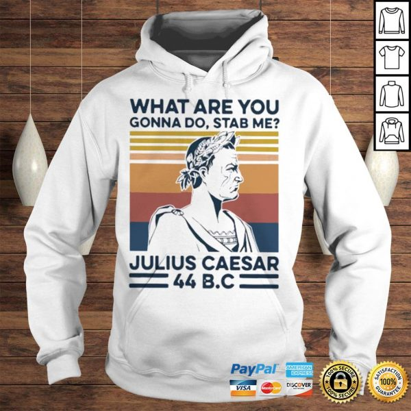 What Are You Gonna Do Stab Me Julius Caesar 44 Bc Shirt Hoodie