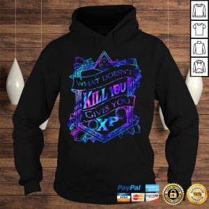What doesnt kill you gives you XP shirt Hoodie