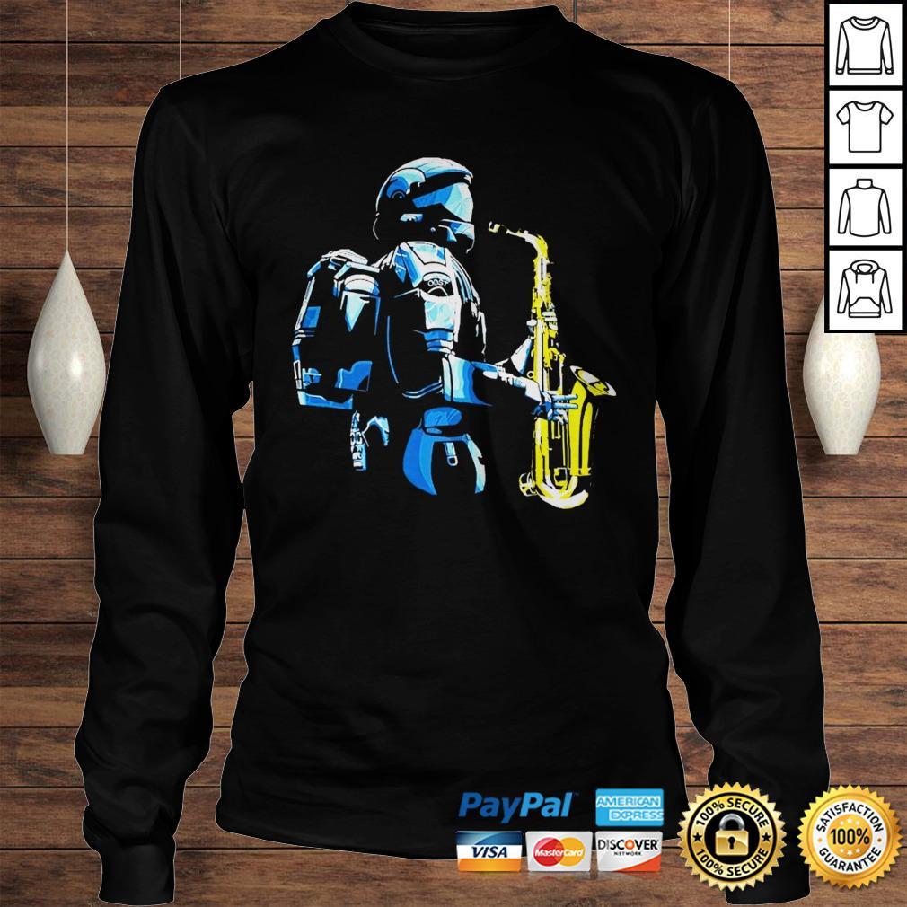 Halo 3 odst saxophone shirt Longsleeve Tee Unisex