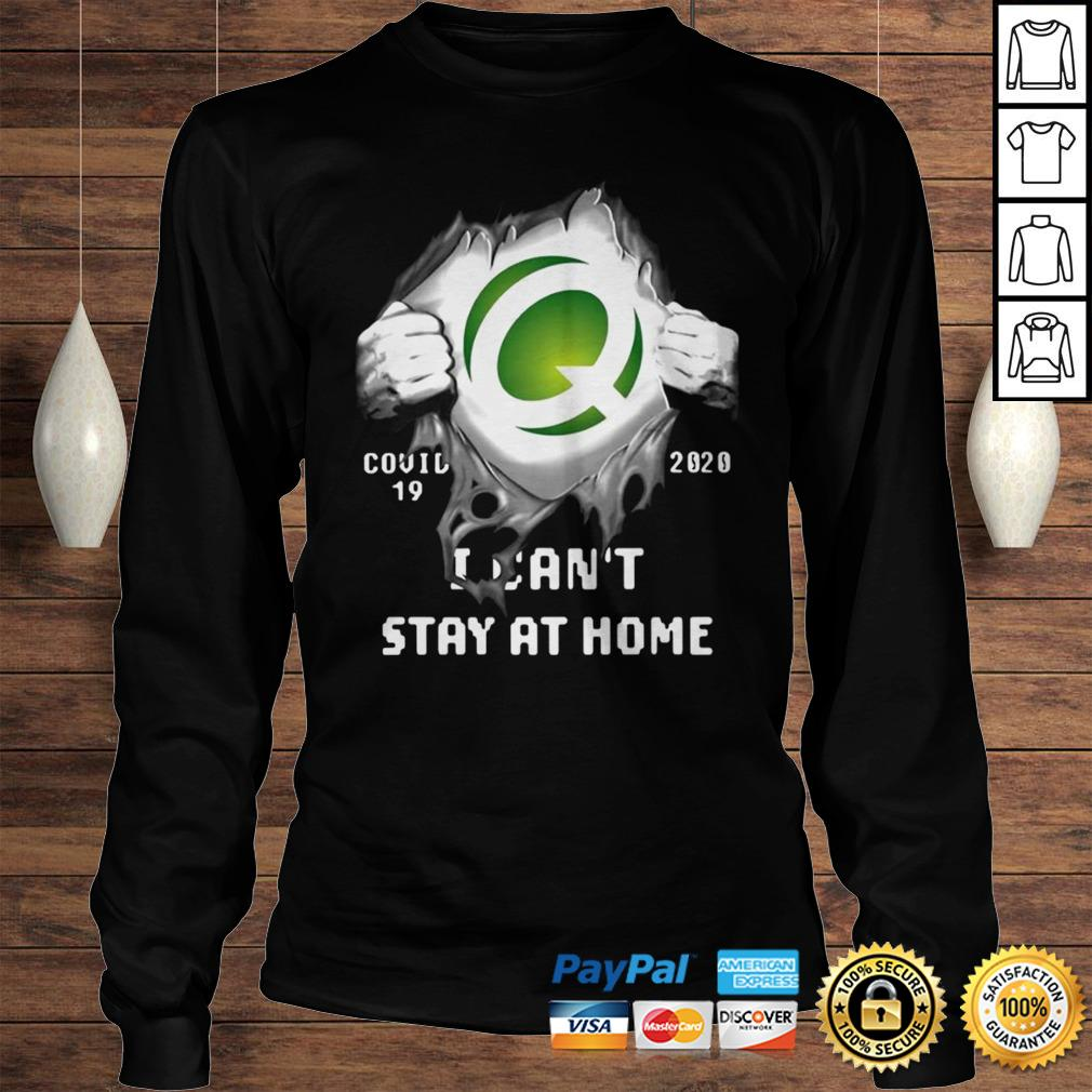 Quest Diagnostics Inside Me Covid19 2020 I Cant Stay At Home Shirt Longsleeve Tee Unisex