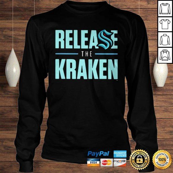 Release The Kraken Hoodie Longsleeve Tee Unisex