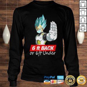 Saga Dragon Ball Super 6Ft Back Or 6Ft Under Shirt Longsleeve Tee Unisex