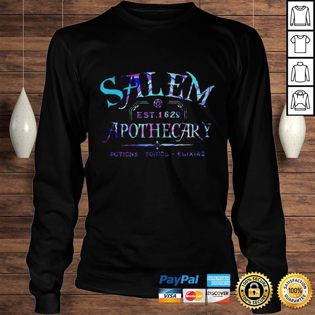 Salem est 1629 apothecary potions tonics elixirs color shirt Longsleeve Tee Unisex