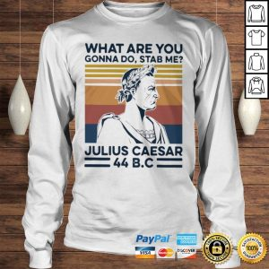 What Are You Gonna Do Stab Me Julius Caesar 44 Bc Shirt Longsleeve Tee Unisex