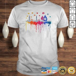 Official Beat Paint Proud Phlebotomist Hoodie Shirt