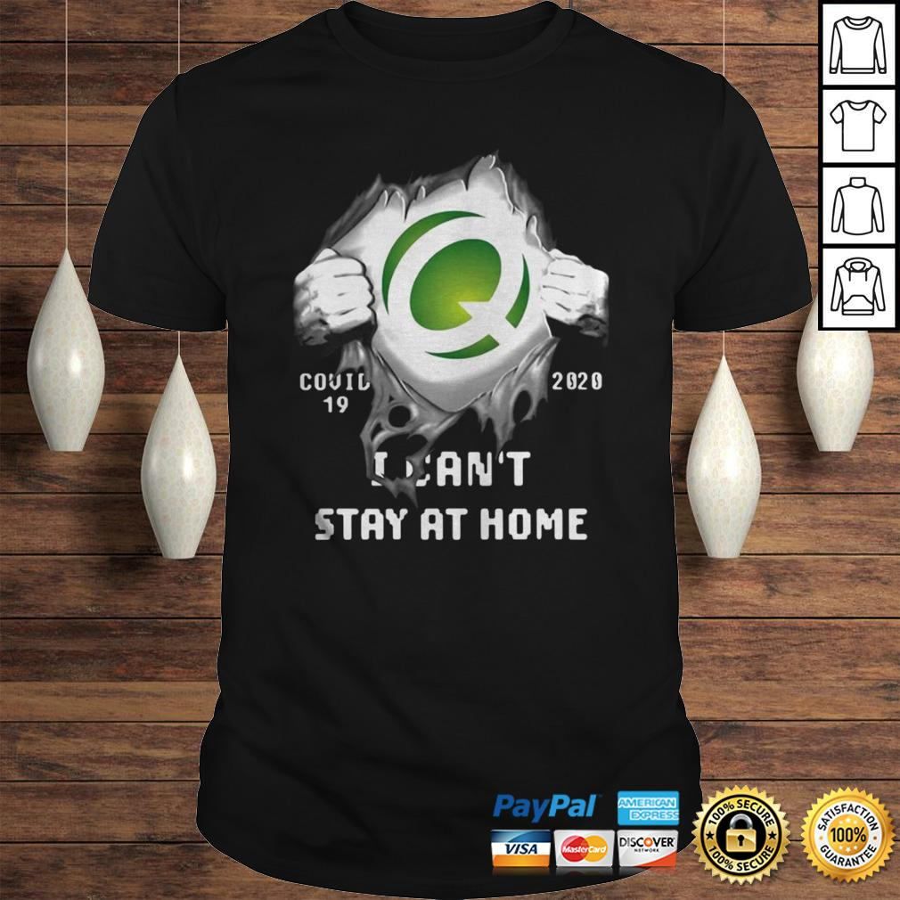 Quest Diagnostics Inside Me Covid19 2020 I Cant Stay At Home Shirt