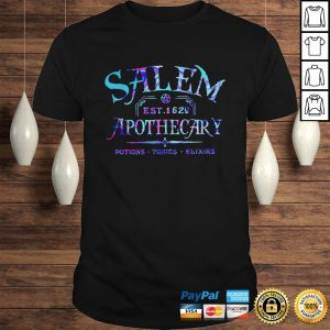 Salem est 1629 apothecary potions tonics elixirs color shirt Shirt