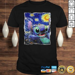 Stitch Starry Night Van Gogh shirt Shirt