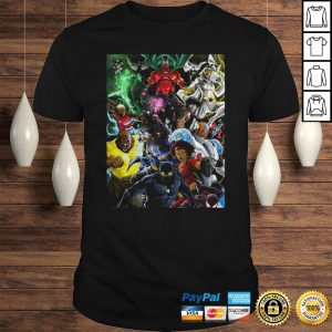 Superheroes of colour by Zack shirt Shirt