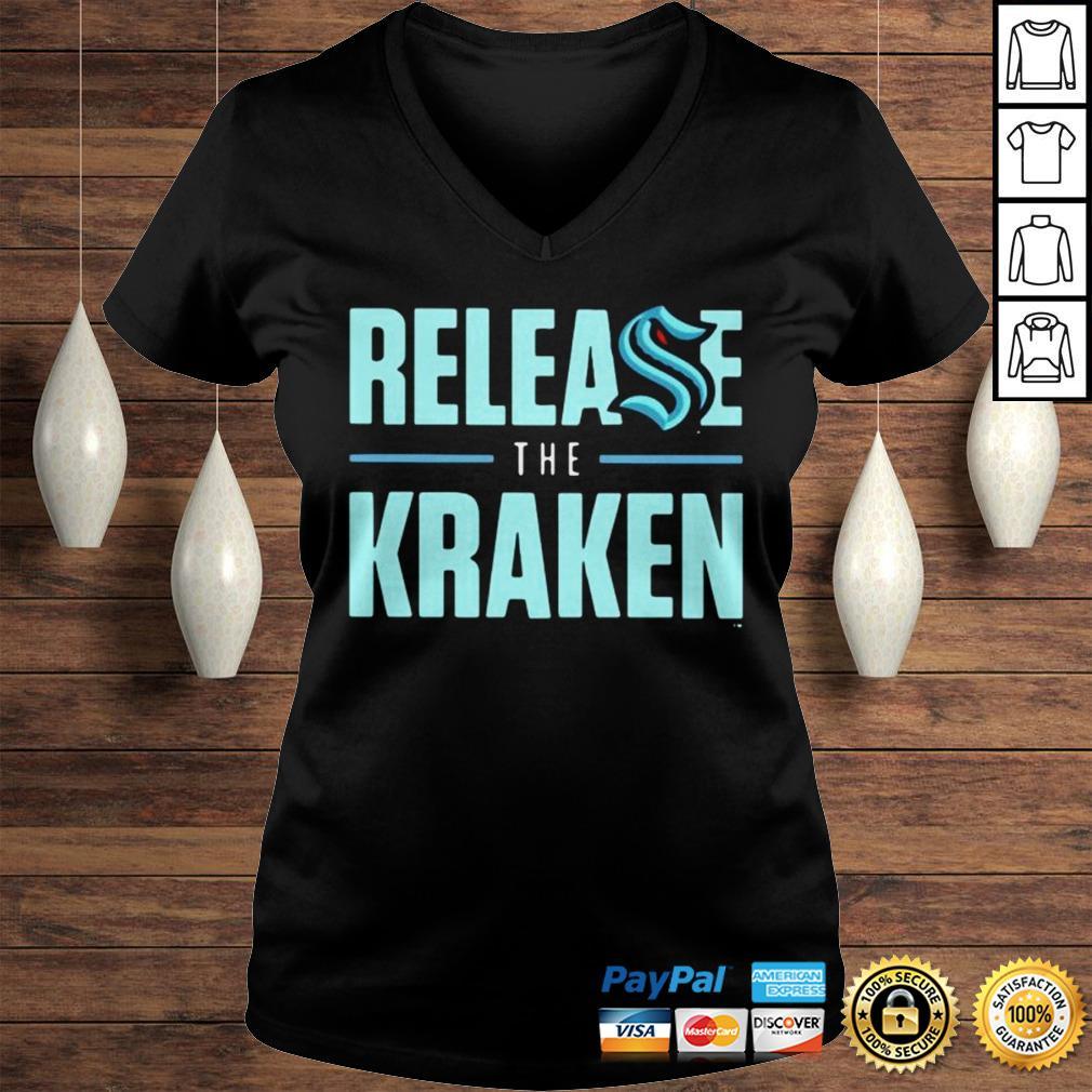 Release The Kraken Hoodie Ladies V-Neck