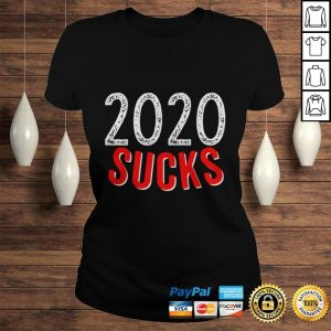 2020 Sucks Shirt Terrible Year So Far Funny I Hate 2020 TShirt Classic Ladies Tee