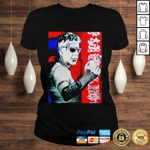Anthony bourdain fuck middle finger shirt Classic Ladies Tee