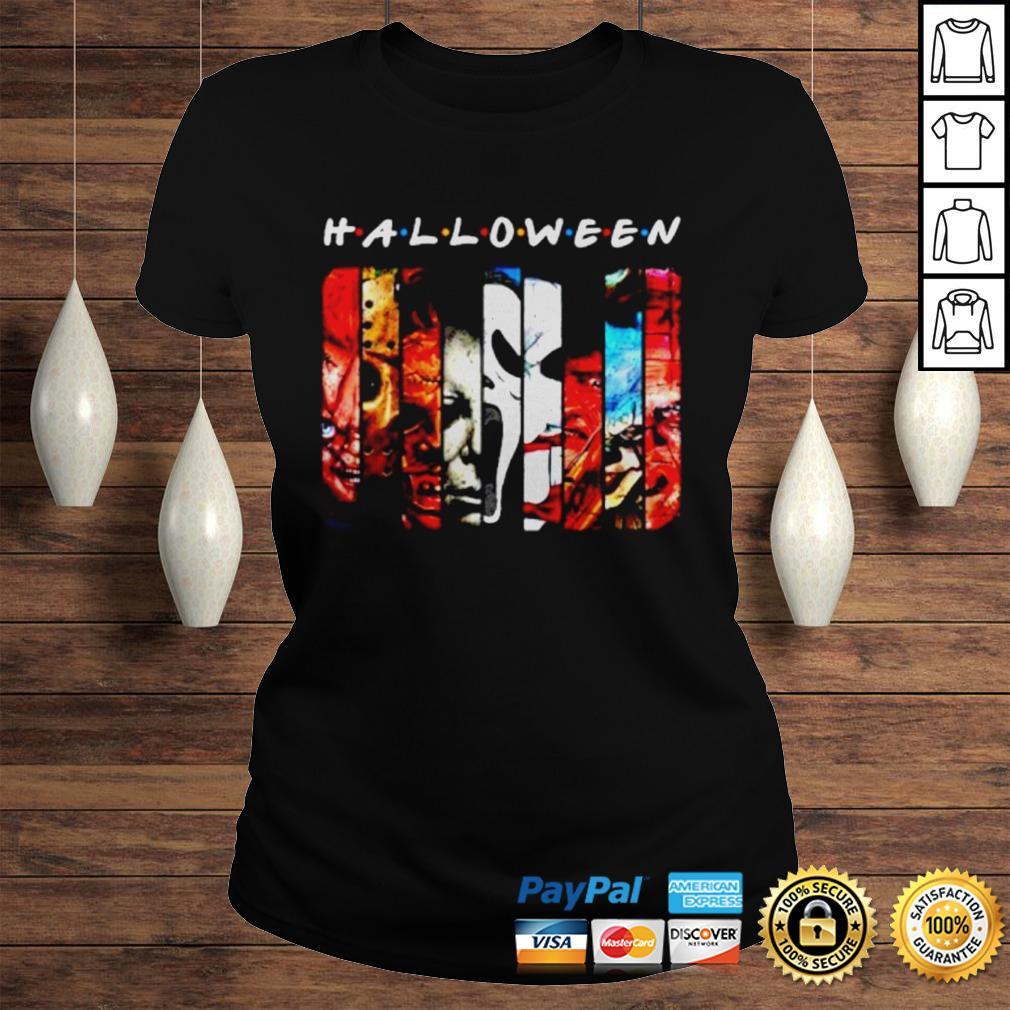 Horror Character Halloween Shirt Classic Ladies Tee