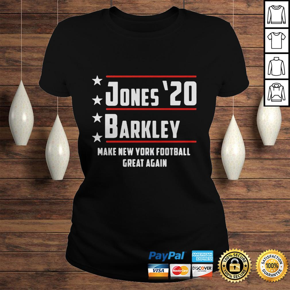 Jones 20 barkley make new york football great again shirt Classic Ladies Tee