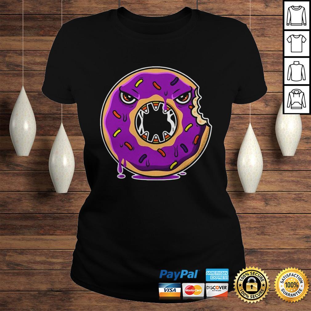 Official Donut Halloween Gift Idea Hood Classic Ladies Tee