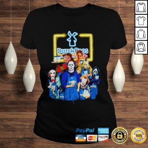 Official Horror Characters halloween Dutch Bros shirt Classic Ladies Tee