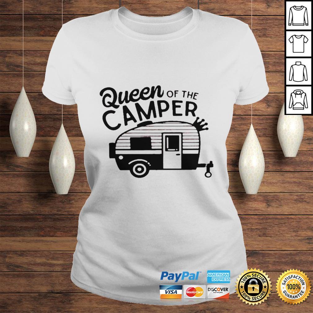 Queen of the camper shirt Classic Ladies Tee
