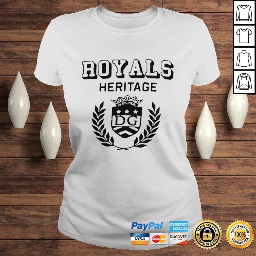 Royals heritage DG shirt Classic Ladies Tee