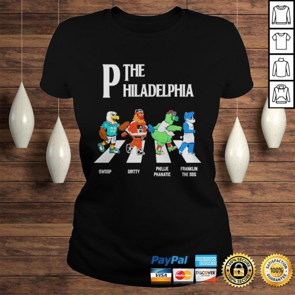 The Philadelphia Abbey Road shirt Classic Ladies Tee