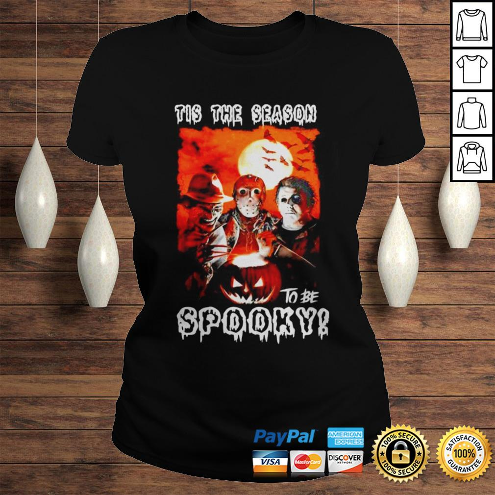 This the season to be spooky halloween shirt Classic Ladies Tee