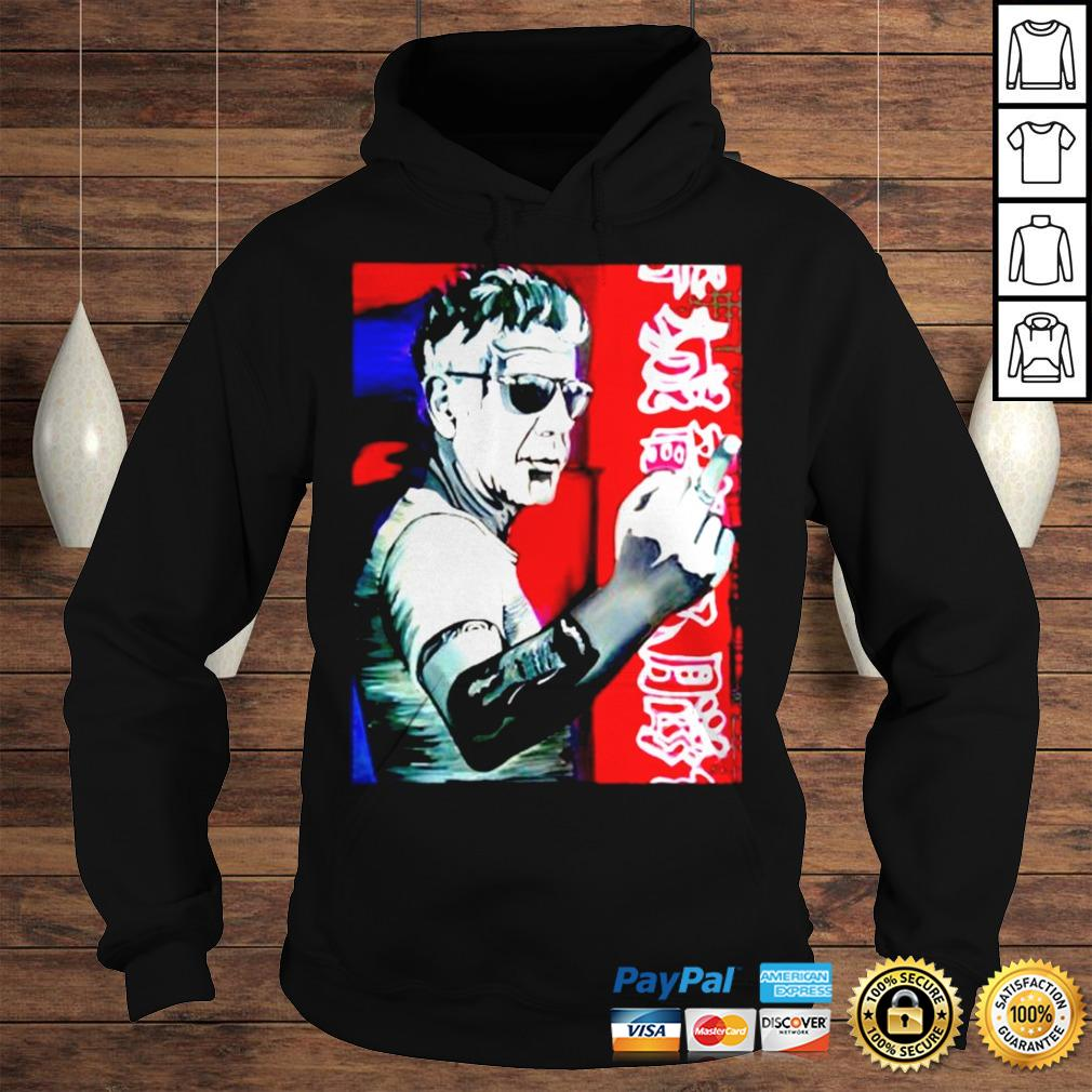 Anthony bourdain fuck middle finger shirt Hoodie