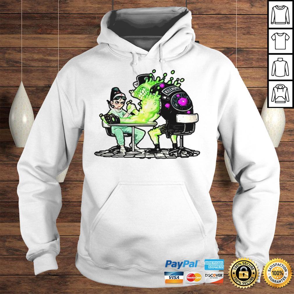 Funny Nurse And Covid 19 Virus 2020 Shirt Hoodie