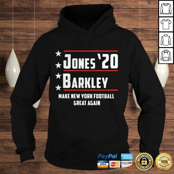Jones 20 barkley make new york football great again shirt Hoodie