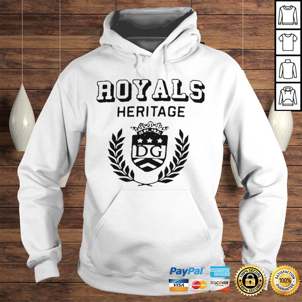 Royals heritage DG shirt Hoodie