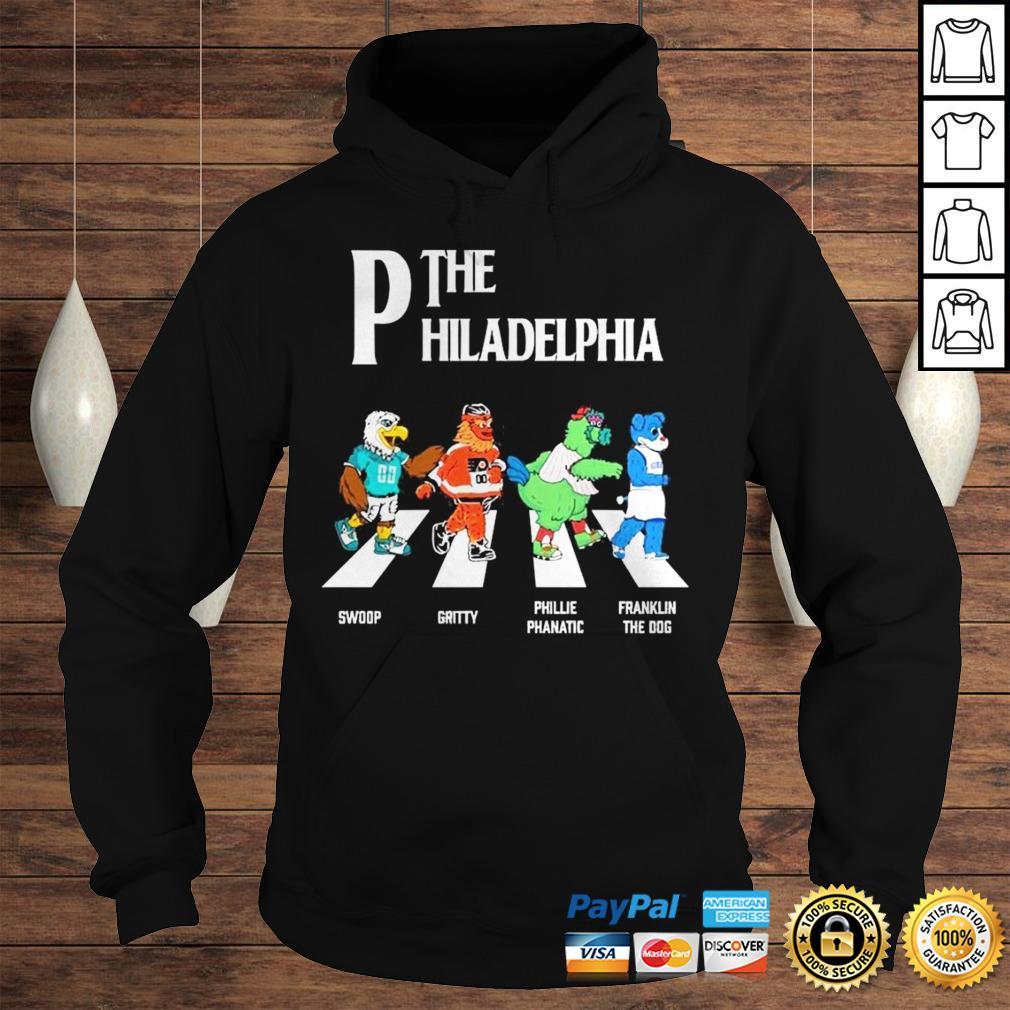 The Philadelphia Abbey Road shirt Hoodie