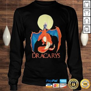 Dracarys and Thrones Moon shirt Longsleeve Tee Unisex