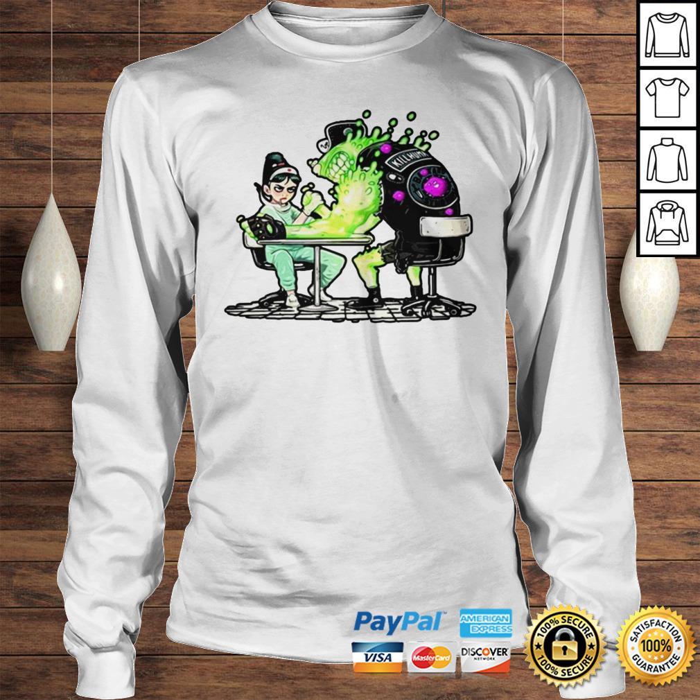 Funny Nurse And Covid 19 Virus 2020 Shirt Longsleeve Tee Unisex