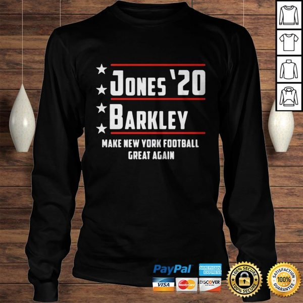 Jones 20 barkley make new york football great again shirt Longsleeve Tee Unisex