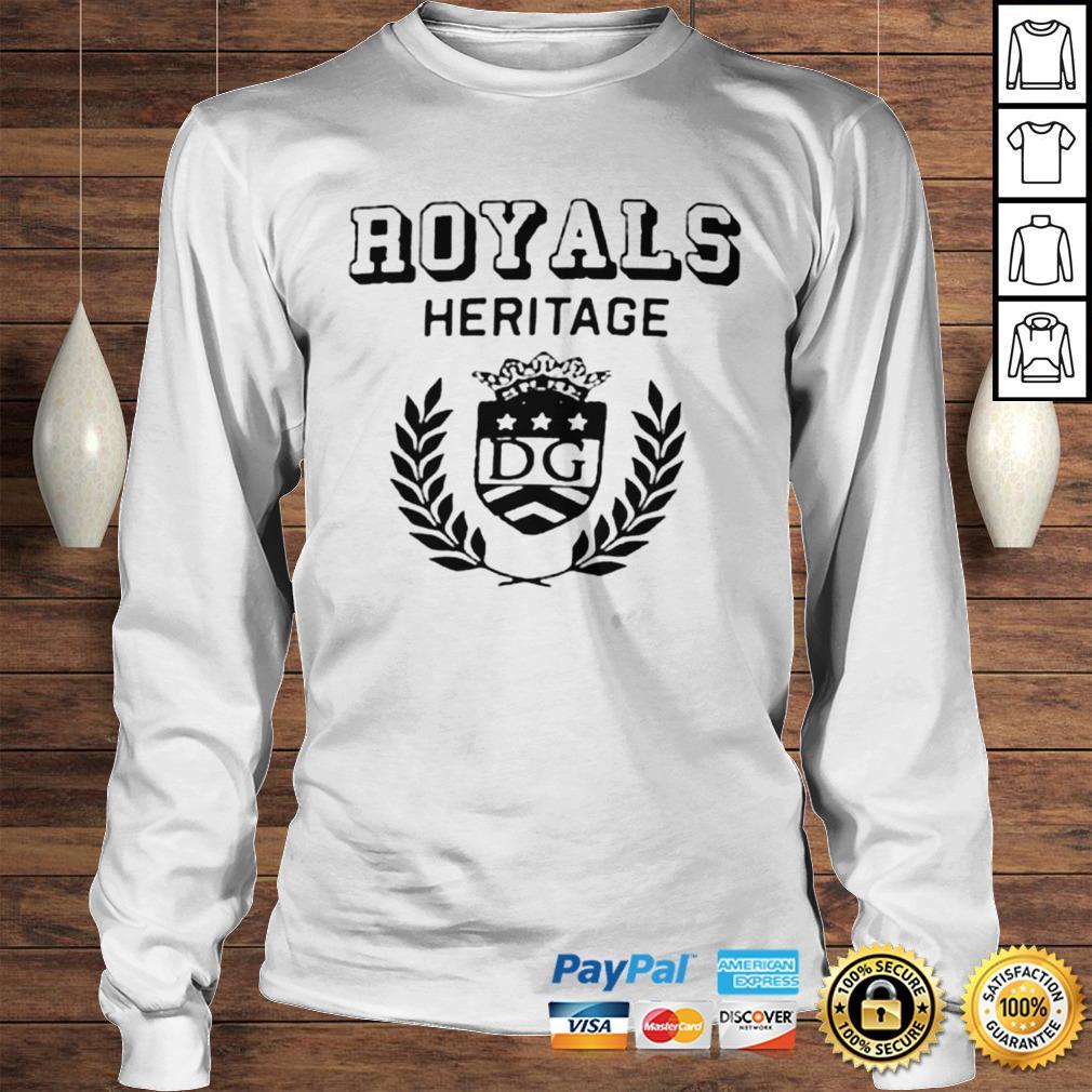 Royals heritage DG shirt Longsleeve Tee Unisex