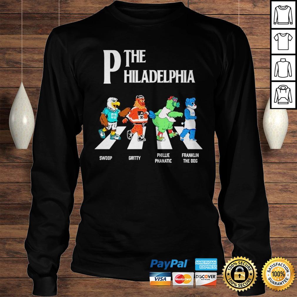 The Philadelphia Abbey Road shirt Longsleeve Tee Unisex