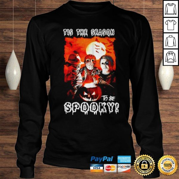 This the season to be spooky halloween shirt Longsleeve Tee Unisex