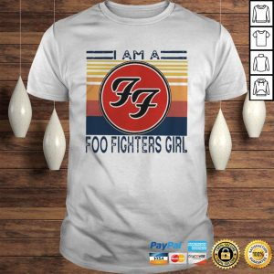 1596255703I am a Foo Fighters girl FF vintage shirt Shirt