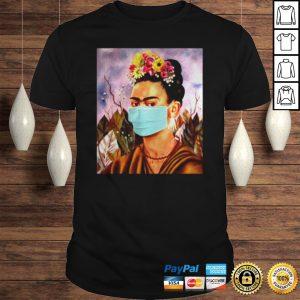 Frida Kahlo self mask women shirt Shirt
