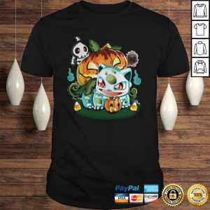 Halloween Pokemon Bulbasaur Pumpkin Ghost shirt Shirt