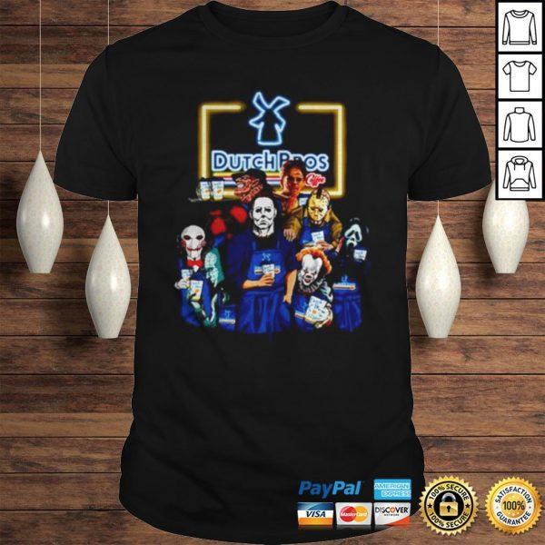 Horror movie characters Dutch Bros coffee shirt Shirt