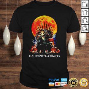 Jack Skellington Halloween is coming shirt