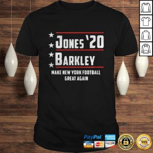 Jones 20 barkley make new york football great again shirt