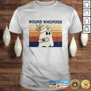 Nurse Ghost Wound Whisperer Vintage Shirt Shirt