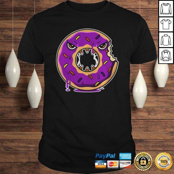 Official Donut Halloween Gift Idea Hood Shirt