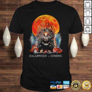 Pennywise Halloween Is Comong Shirt Shirt