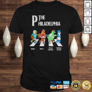 The Philadelphia Abbey Road shirt